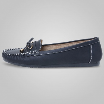 MAX Bell Bow Moccasins