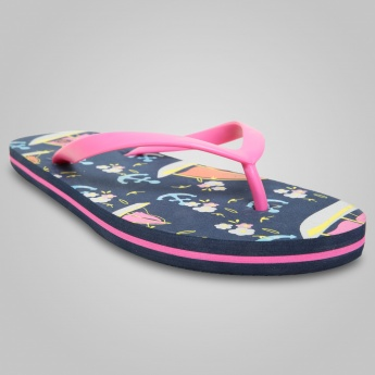 MAX Boat Printed Slippers