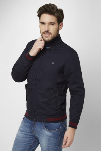 MAX Reversible Quilted Mock Collar Jacket
