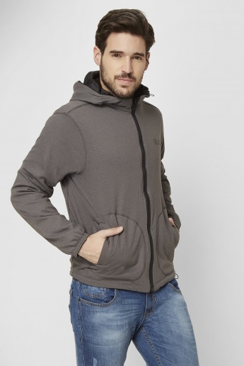 MAX Reversible Front Zip Hooded Sweatshirt