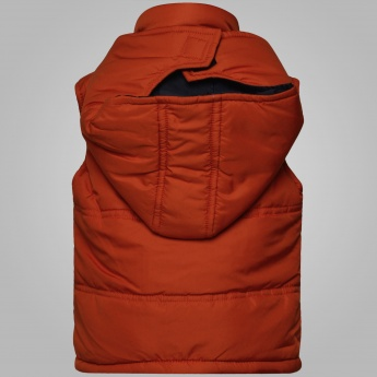 MAX Sleeveless Hooded Jacket