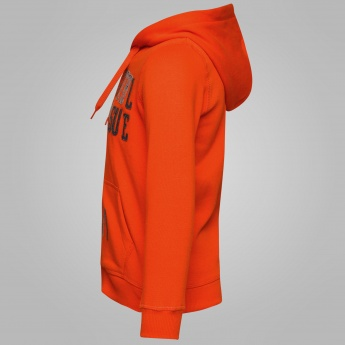MAX Hooded Zipper Closure Sweatshirt