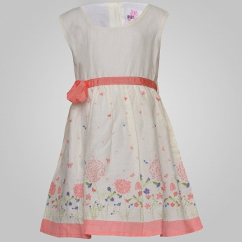 MAX Floating Pollen Sleeveless Dress