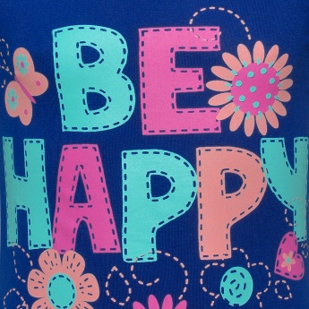MAX Be Happy Full Sleeves T-Shirt