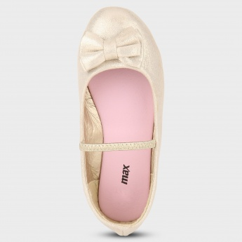 MAX Bow Detail Ballerinas