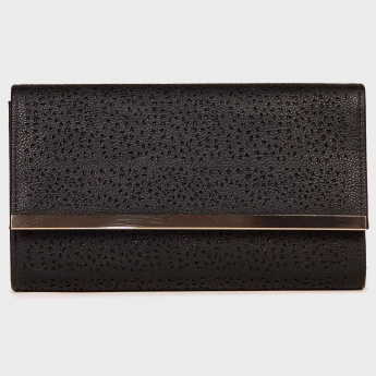 MAX Laser Cut Chain Strap Clutch