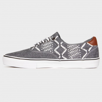 MAX Printed Canvas Sneakers