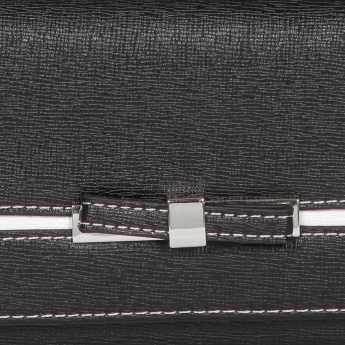 MAX Textured Bow Wallet
