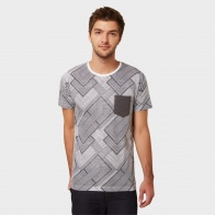 MAX Printed Patch Pocket T-Shirt