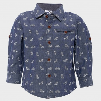 MAX Cycle Print Full Sleeves Shirt