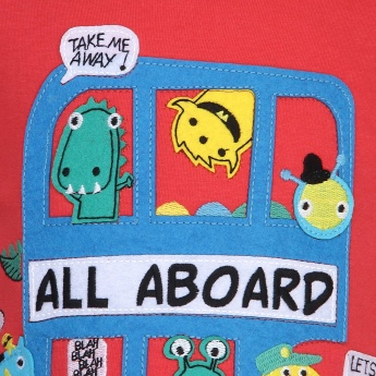 MAX All Aboard Crew Neck T-Shirt