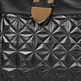MAX Quilted Adjustable Straps Handbag