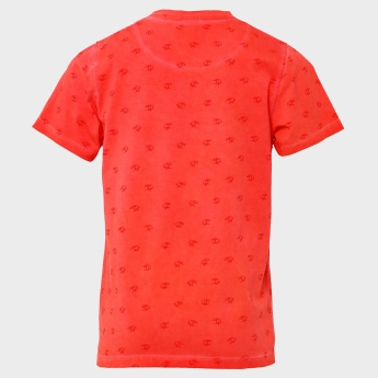 MAX Splash Waves Printed T-Shirt
