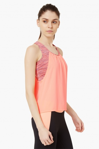 MAX Sporty Racer Back Top