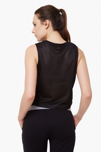 MAX Perforated Crop Top