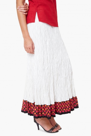 MAX Scrunched Maxi Skirt