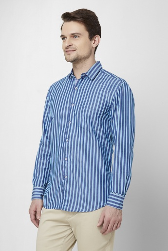 MAX Striped Full Sleeves Casual Shirt