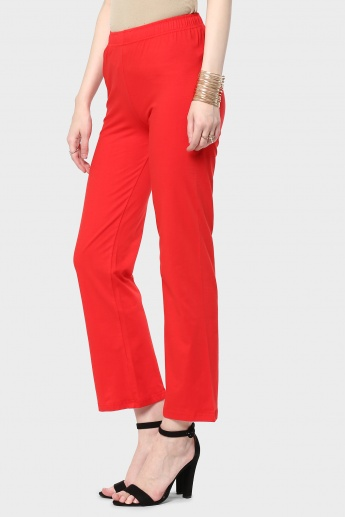 MAX Solid Flared Pants