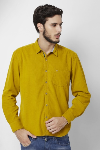 MAX Roll-Up Sleeves Casual Shirt