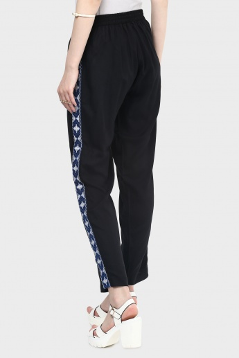 MAX Printed Straight Pants