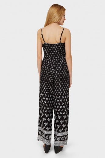 MAX Printed Strappy Jumpsuit