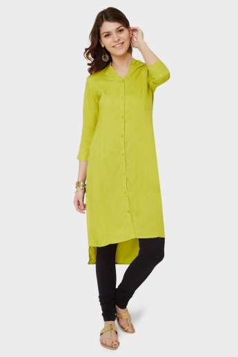 MAX High Low Button Up Kurta