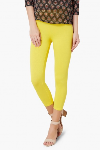 MAX Solid 3/4th Leggings