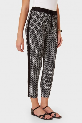 MAX Printed Side Rib Pants