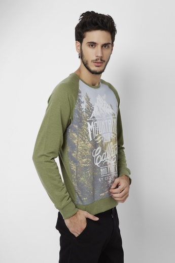 MAX Graphic Printed Pullover